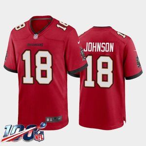 Tampa Bay Buccaneers Tyler Johnson Red Jersey